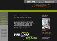 Sitio web de Solanas Mobles i Decoracio S.l.