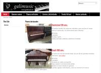 Sitio web de Galimusic S.l.