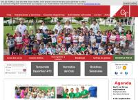 Sitio web de Club de Tenis de Pamplona - Sdad. Deport