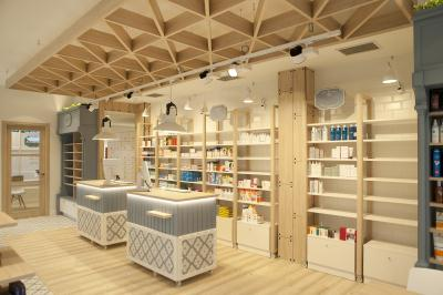 Sube susaeta interiorismo sube contract bilbao for Decoracion de farmacias