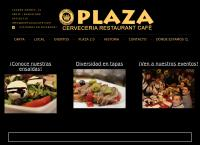 Sitio web de Bar Plaza - Cafe